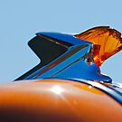 1952 Pontiac &quot;Chief&quot; Tin Woodie Wagon Hood Ornament by Jill Reger