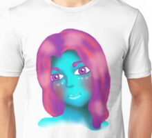 Alien Beauty Gazing Into My Soul Unisex T-Shirt