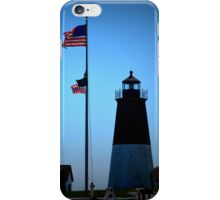 Point Judith - Lighthouse [1] iPhone Case/Skin