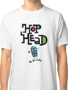 Hop Head (Mr Brewsky) - light Classic T-Shirt