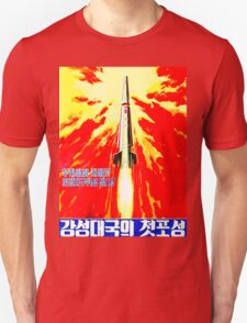 North Korean Propaganda - Rocket T-Shirt