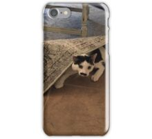 Hiding from the Mondays iPhone Case/Skin
