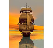 At Full Sail Photographic Print