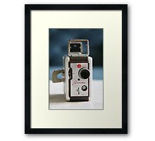 Brownie Movie Camera  Framed Print