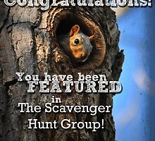 The Scavenger Hunt Banner by Teresa Young