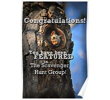 The Scavenger Hunt Banner Poster