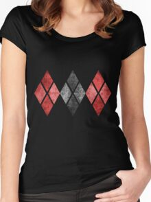 Harley Print Women's Fitted Scoop T-Shirt