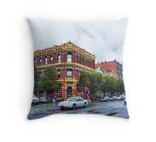 James - Hastings Building Throw Pillow