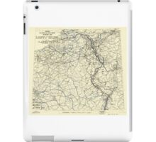 World War II Twelfth Army Group Situation Map March 11 1945 iPad Case/Skin
