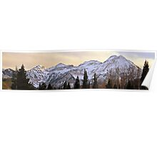 Mount Timpanogos from the North - Panorama Poster