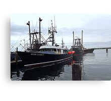 The Commercial Fleet at Point Judith RI [2] Metal Print