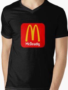 McDeadly [-0-] Mens V-Neck T-Shirt
