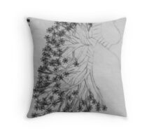 Breathless Throw Pillow