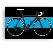 Bike Team Sky (Big - Highlight) Canvas Print