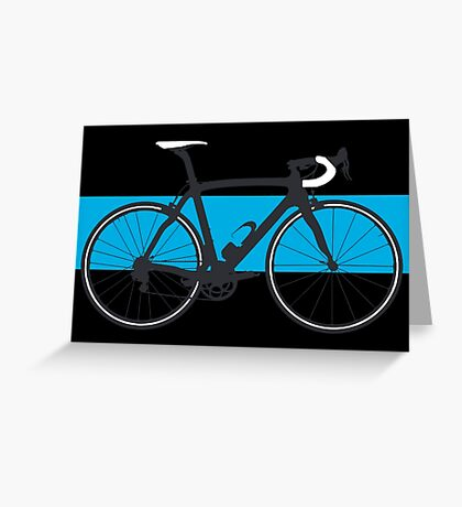 Bike Team Sky (Big - Highlight) Greeting Card