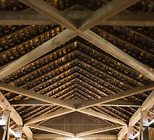 Covered Bridge Ceiling by Adam Bykowski