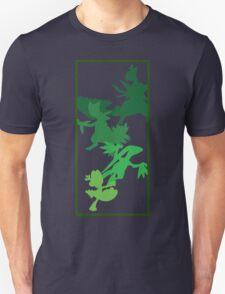 Treecko Evolutionary Chain  Unisex T-Shirt