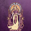 Zelda Nouveau IPHONE CASE by MeganLara