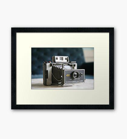 Polaroid Land Camera Framed Print