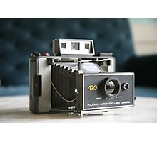 Polaroid Land Camera Photographic Print