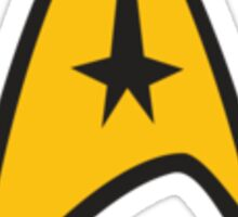 Star Trek Logo Design Sticker