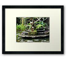 Buddha - Ubud Village Bali,Indonesia Framed Print