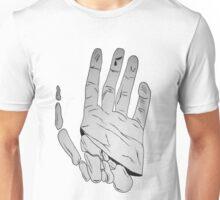 Comic Skeleton Hand Unisex T-Shirt