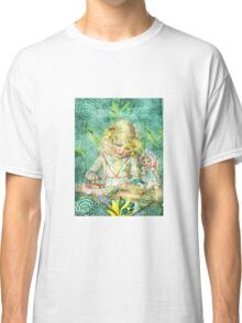 TOILING FOR HOURS IN HER FOREST OF FLOWERS Classic T-Shirt