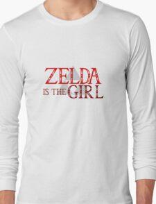 Zelda Is The Girl Long Sleeve T-Shirt