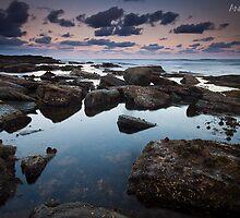 Peaceful Pool - Long Reef by Andrew Kerr