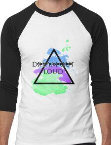 Dream Out Loud Watercolor Men's Baseball ¾ T-Shirt