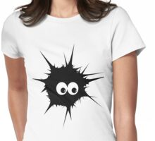 Cute Monster  Womens Fitted T-Shirt