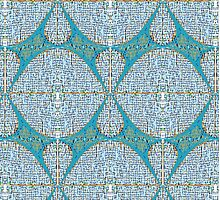 Abstract Fabric Pattern by ennisbk