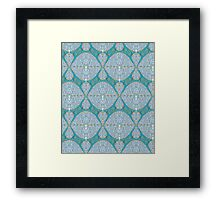 Abstract Fabric Pattern Framed Print
