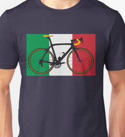 Bike Flag Italy (Big - Highlight) Unisex T-Shirt