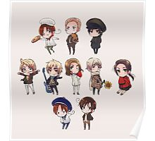 hetalia chibi collection Poster