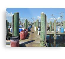 Boat Docks at Point Judith, RI [5] Metal Print
