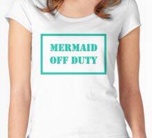Mermaid Off Duty Women's Fitted Scoop T-Shirt