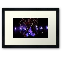 Explosion of Fantasy Framed Print