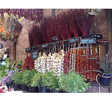 Spice shop Photographic Print