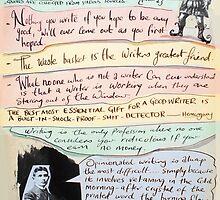 writers homage #1 by Loui  Jover