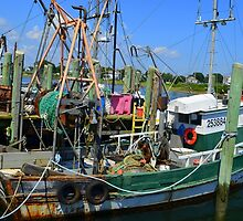 Fishing Trawler at the Docks at Point Judith, RI [7] by Schoolhouse62