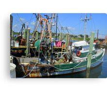 Fishing Trawler at the Docks at Point Judith, RI [7] Metal Print