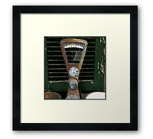The Exact Weight  Framed Print
