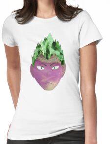 Turnip-kun Womens Fitted T-Shirt
