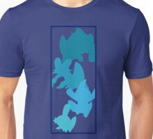 Mudkip Evolutionary Chain Unisex T-Shirt