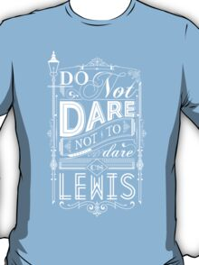 Lewis Typography T-Shirt