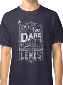 Lewis Typography Classic T-Shirt