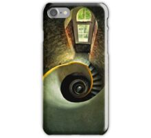 Inside the old lighthouse iPhone Case/Skin