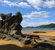Rock Formantion - Abel Tasman walkway by Lauren Taylor